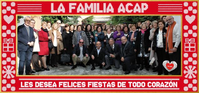 Felicitación Navidad 2017 de ACAP