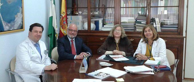 ACAP con Gerente del hospital Puerta del Mar de Cádiz