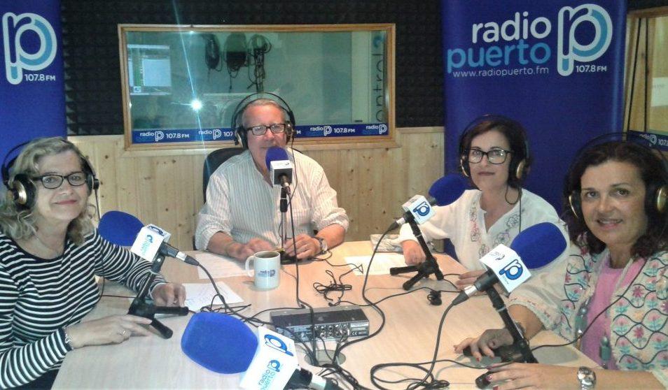 imagen entrevista en Radio Puerto