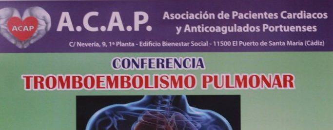 imagen conferencia Tromboembolismo Pulmonar