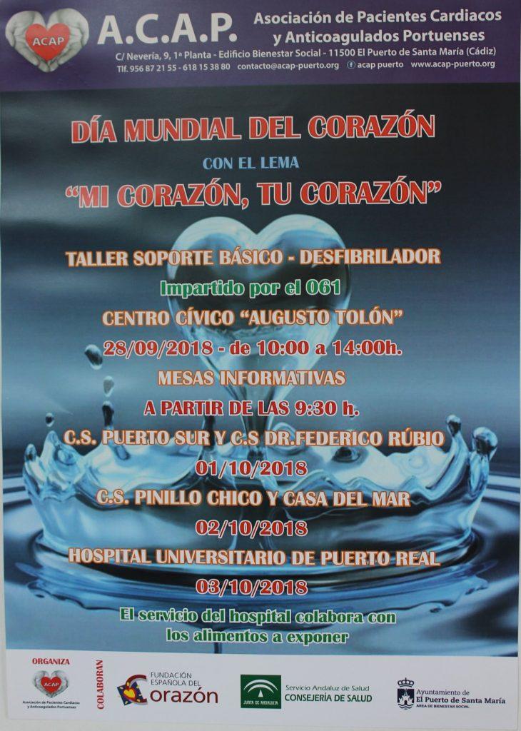 cartel completo día mundial del corazón